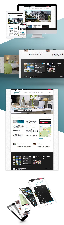 Kergudon - Responsive website design and development