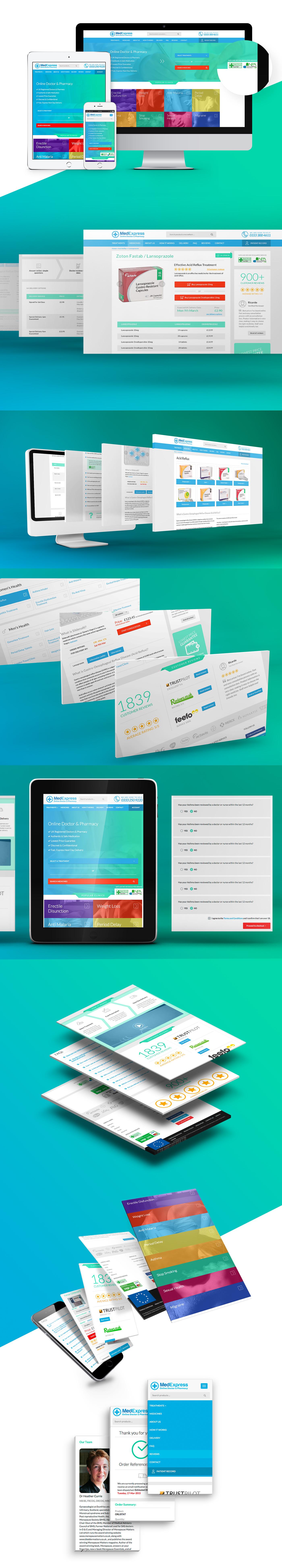 Responsive Design for MedExpress