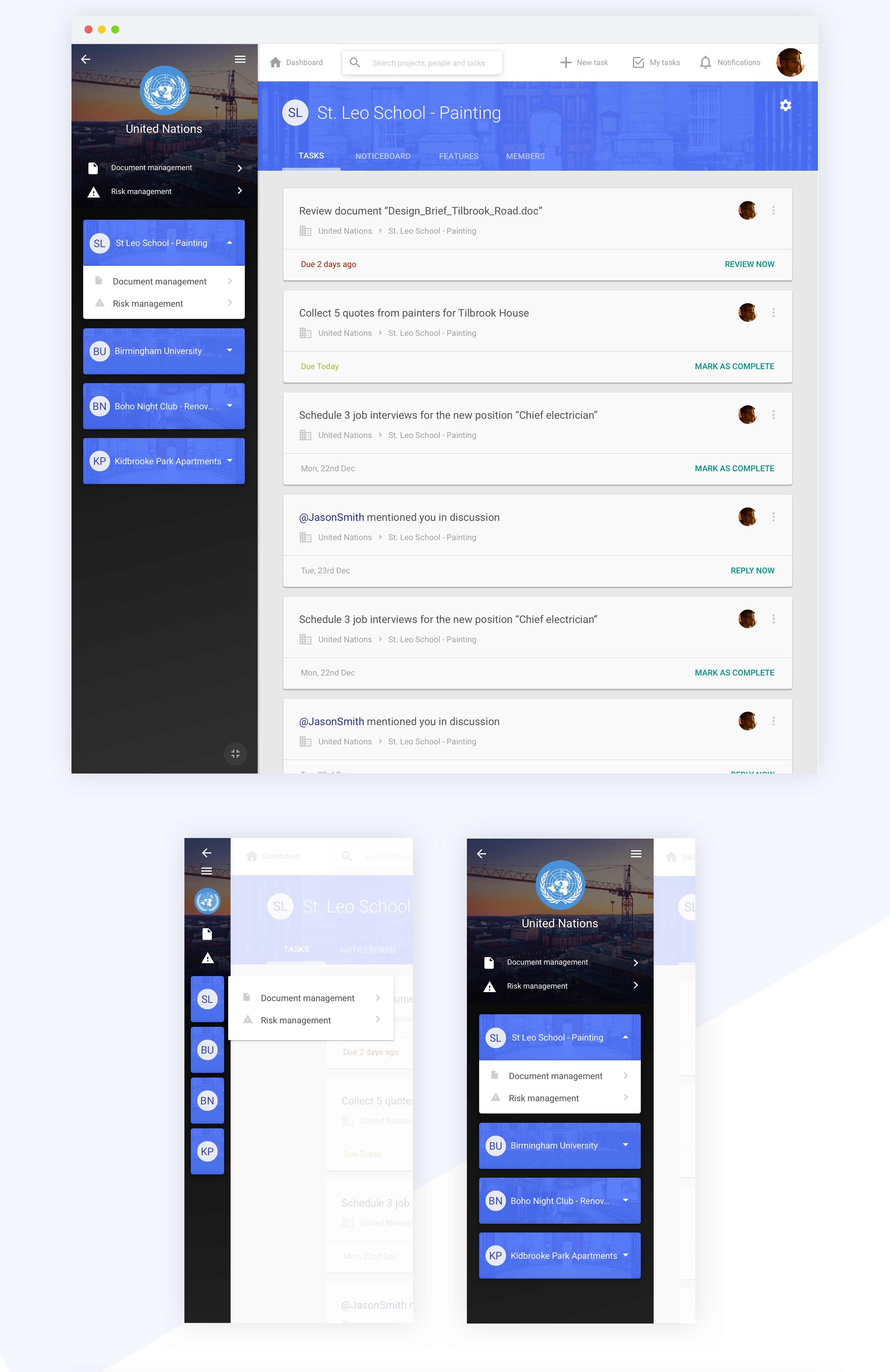 tasks design